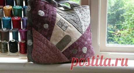 Японский пэчворк: идеи сумок