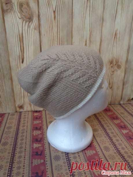 . Двусторонняя шапочка - Вязание - Страна Мам