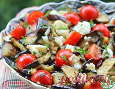Сицилийский салат с баклажанами – кулинарный рецепт