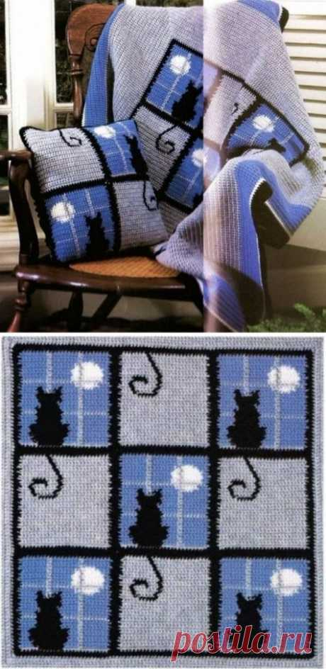 Gorgeous Crochet Cat Pattern Blanket Ideas - Easy Pin Crochet Cat Pattern Blanket Larksfoot Inspired 12″ Granny Square pattern... изделия крючком Amigurumi Papa Smurf – All About Crochet Farklı renk ipler ile yapılmış yeni bir zikzak bat... The Best Crochet Halter Tops