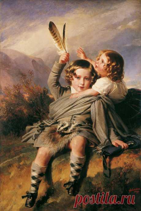 Дети в живописи.