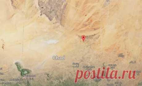 Удивительное место в центре пустыни Сахара.