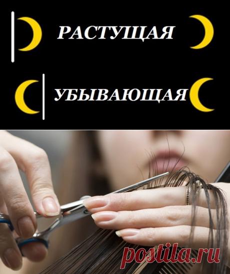 ЛУННЫЕ ДНИ ДЛЯ СТРИЖКИ ВОЛОС !!!