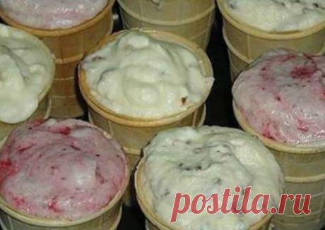 Домашнее мороженое со вкусом советского пломбира - пошаговый рецепт с фото. Автор рецепта Инна Мельниченко . - Cookpad
