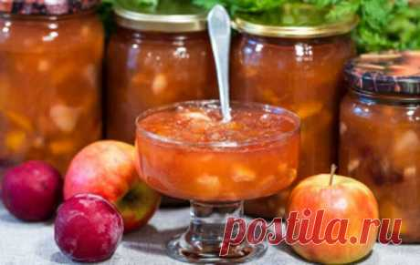 Домашнее фруктово-яблочное повидло на зиму - TVCook - медиаплатформа МирТесен Удачный рецепт приготовления повидла из душистых яблок со сливой, нежным персиком и сочной грушей, которое обязательно понравится многим и приятно удивит своим великолепным вкусом!Читать дальше