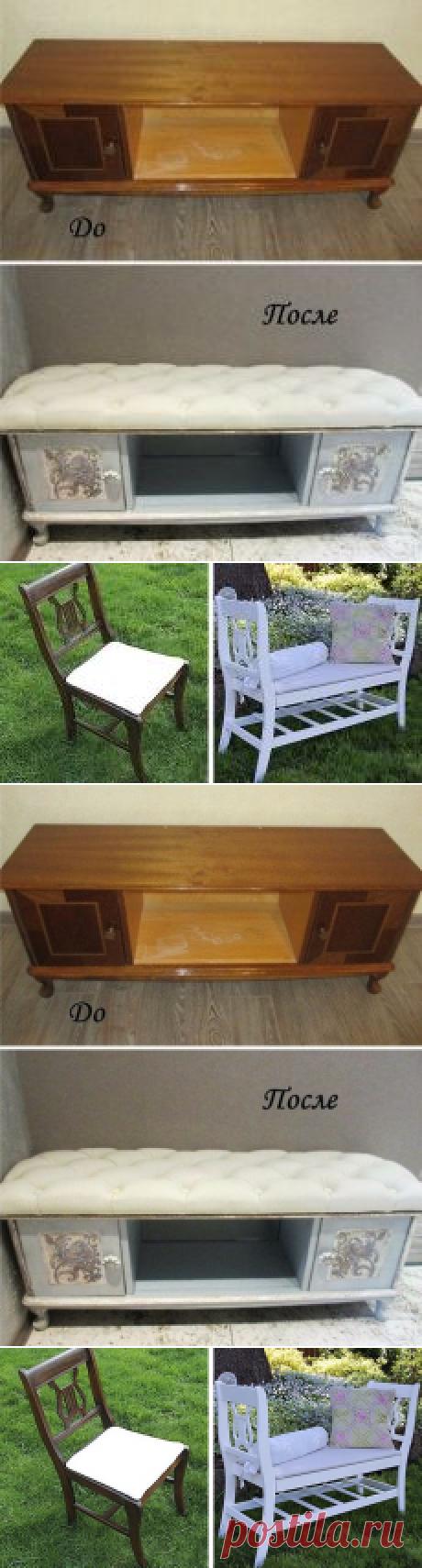 La búsqueda sobre el Postlimo: los rehacimientos de los muebles viejos