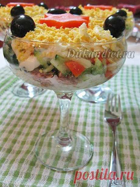 Простые салаты для праздничного застолья