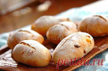 Вкусные постные ржаные булочки с изюмом и цукатами - пошаговый рецепт с фото | FEMIANA