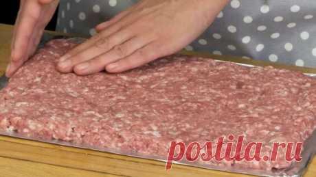 Всего 3 ингредиента! Очень вкусный мясной рулет быстрого приготовления! | Appetitno.Tv - Яндекс.Видео