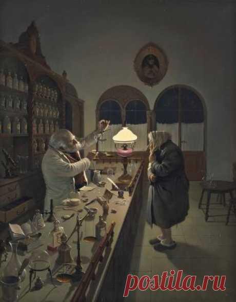 ✨ Вида Габор и его забавная жанровая живопись