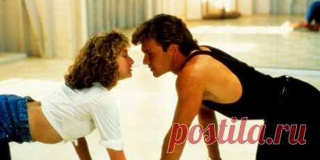 """Грязные танцы (Dirty Dancing, 1987) Лето 1963 года. 17-летняя Фрэнсис по прозвищу Бэби, невинная избалованная девушка из обеспеченной семьи, проводит каникулы с родителями в курортном отеле. Она знакомится с Джонни, красивым профессиональным танцором, искушенным в вопросах жизни и любви. Словно околдованная сексуальными ритмами и ничем не сдерживаемыми движениями """"грязных танцев"""" в стиле ритм-энд-блюз, Бэби становится ученицей-партнершей Джонни - и в танцах, и в любви…"""