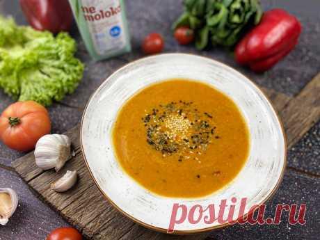 Суп из запечённых овощей - Супы - Рецепты - Nemoloko