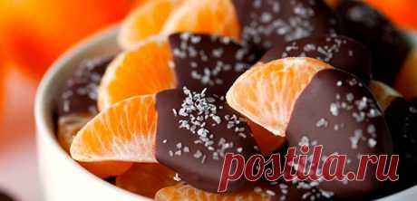 Десерты из фруктов на Новый год