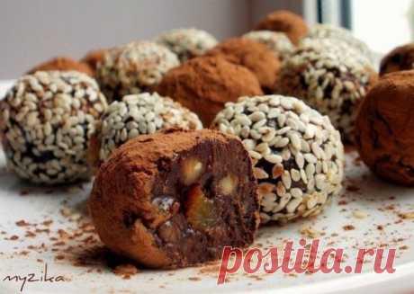 Домашние полезные конфетки  Ингредиенты: - 5... / Еда и напитки / Рецепты / Pinme.ru