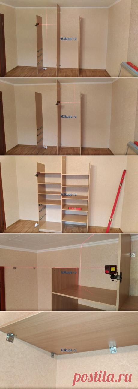Встроенный шкаф купе от стены до стены 3,5 метра. | flqu.ru - квартирный вопрос. Блог о дизайне, ремонте