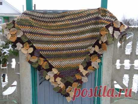 Warm shawl