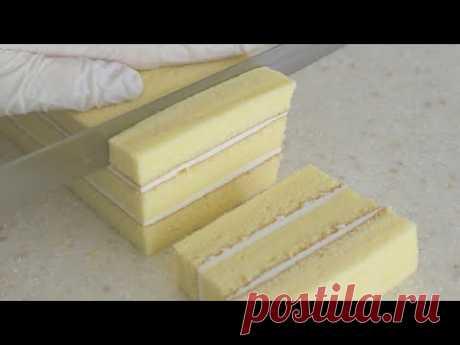 масляный песочный торт / Как сделать действительно мягкий масляный песочный торт / Бисквитный торт