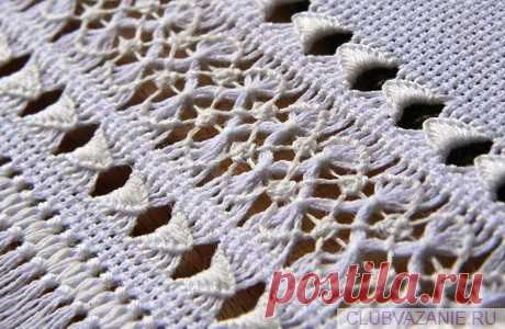 Вид ажурной вышивки - мережки