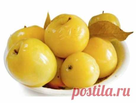 Яблоки моченые в домашних условиях очень вкусно и просто. Моченые яблоки со смородиной
