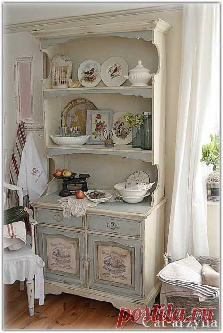 decoupage furniture стиль прованс