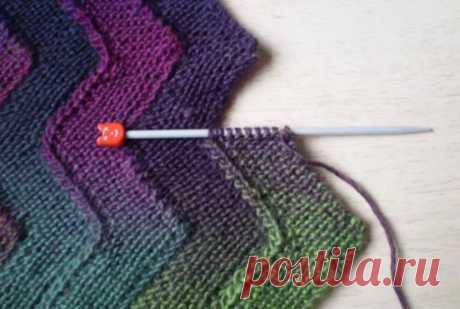 Метод набора полосок: мастер-класс по вязанию Модная одежда и дизайн интерьера своими руками