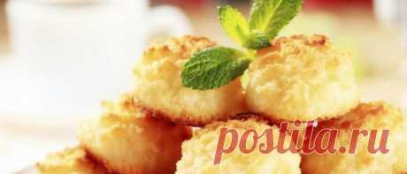 Кокосовое печенье - Пасхальный рецепт - Мир женщины Беерот
