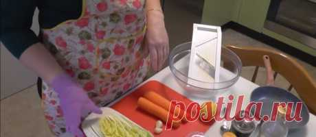Салат из пекинской капусты с чесноком и морквью - Рецепты салатов