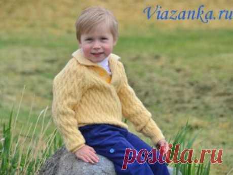 Связать свитер ребенку для мальчика
