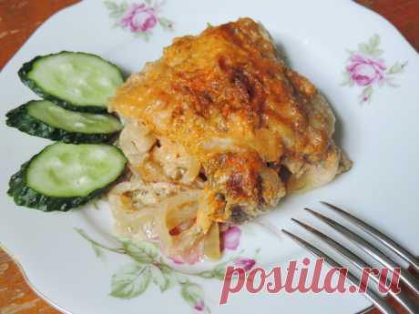 Куриные окорочка в сметанно-томатном соусе - пошаговый рецепт с фото - как приготовить, ингредиенты, состав, время приготовления - Леди Mail.Ru