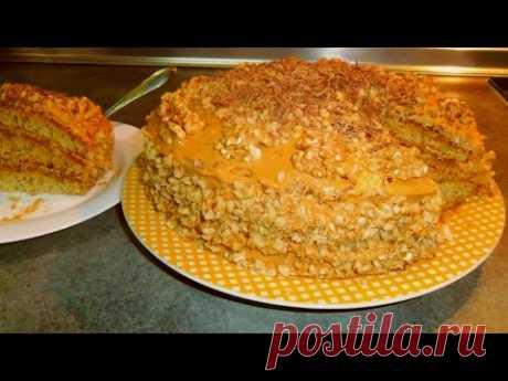 """""""ИДЕАЛ"""" вкусный торт с грецкими орехами рецепт от Inga Avak"""