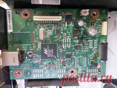 HP Laser Jet M1132 MFP. Компьютер не видит МФУ   Тут я показываю три основные проблемы с МФУ по которой причине не работает USB гнездо.