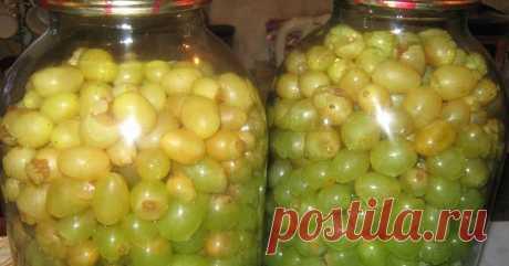 Об оливках и слышать не хочу, после того, как попробовала маринованный виноград/ Роскошь круглый год   Хитрости жизни