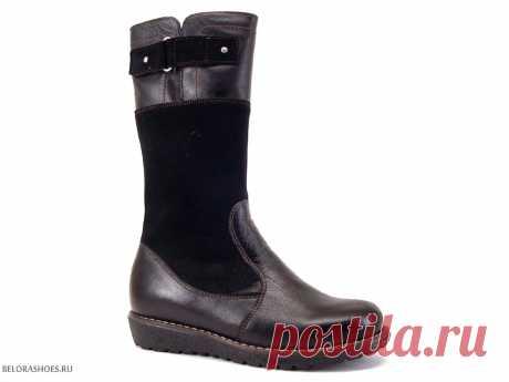 Сапожки школьные Неман 61624 - детская обувь, обувь для девочек, сапоги. Купить обувь Неман
