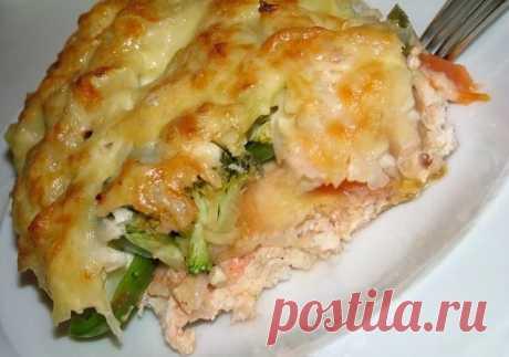 ПП-ужин: запеканка из цветной капусты с курицей - Советы для женщин
