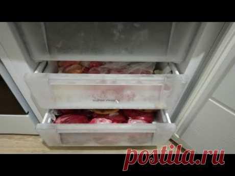 Домашняя заморозка овощей и ягод на зиму Что я заготавливаю в морозилке - YouTube