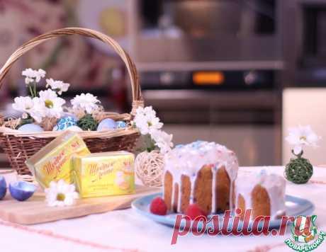 Праздничная глазурь для пасхального кулича – кулинарный рецепт