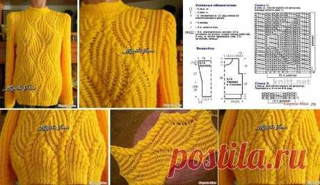 Невероятно яркий и красивый свитер: идея и узор — Сделай сам, идеи для творчества - DIY Ideas