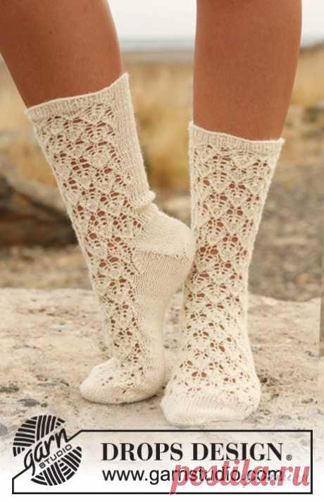 Ажурные носки спицами | Своими руками