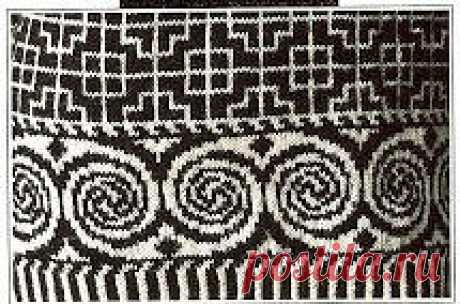 Celtic jacquard patterns Celtic jacquard patterns