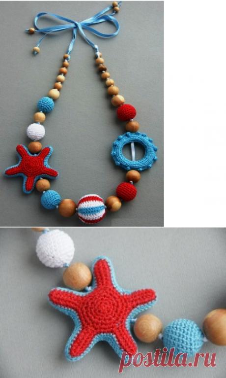 Морская звезда для слинго-бус