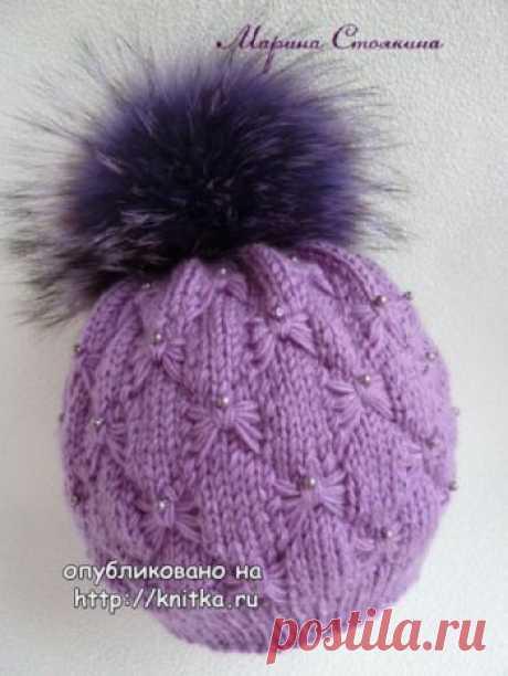 Зимняя шапка спицами, 23 модели с описанием для детей и взрослых, Вязание для детей