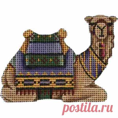 Small Nativity – Lavender Camel Adorable high-quality Small Nativity - Lavender Camel. The Needlepointer is a full-service shop specializing in hand-painted canvases, thread fibers, needlepoint books, accessories, needlepoint classes and much more.