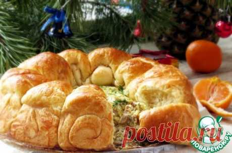Сырные булочки с сырно-грибным кремом - кулинарный рецепт