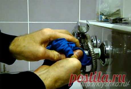 Как очистить сантехнику