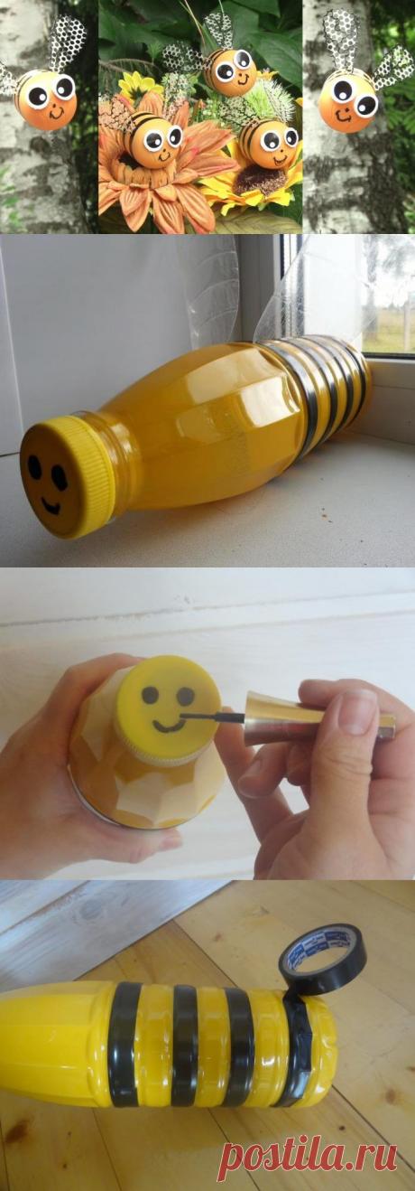 Пчела и улей из пластиковых бутылок своими руками: пошаговая инструкция для начинающих с фото