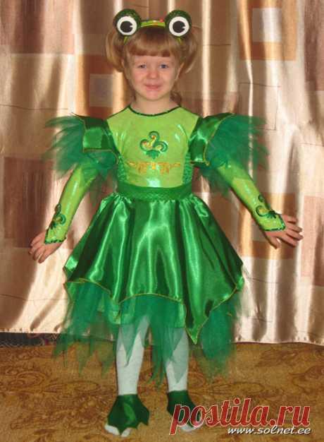 Как сделать новогодний костюм Лягушки к Новому Году?