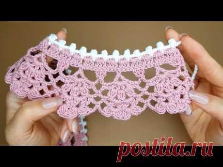 #185 Crochet collar[Eng]