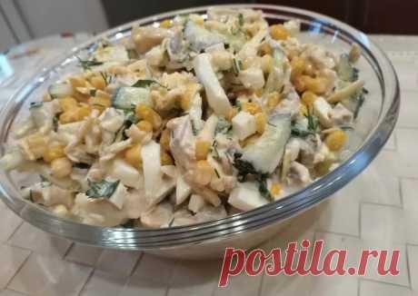 (3) Салат с куриной грудкой - пошаговый рецепт с фото. Автор рецепта Ольга Елисеева . - Cookpad
