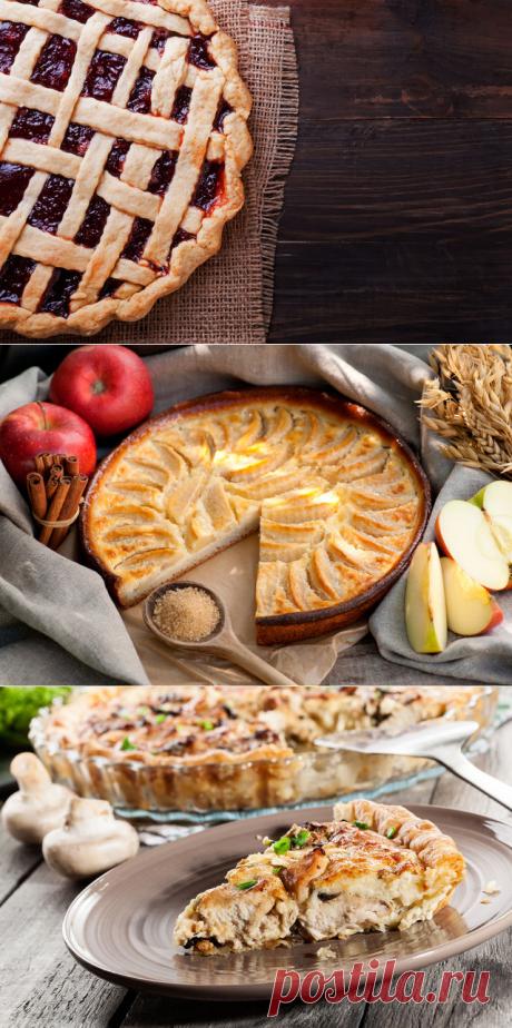 Быстрая выпечка: семь рецептов пирогов на скорую руку.