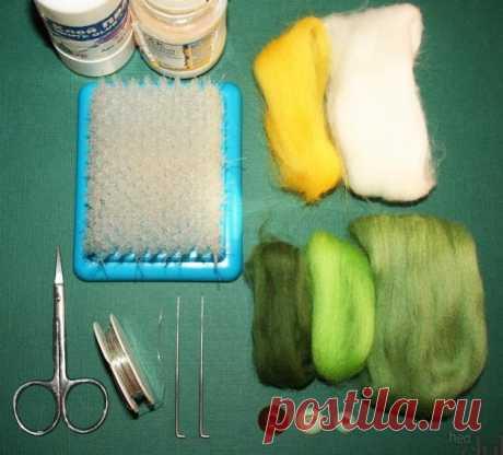 Фелтинг – валяние шерстью для начинающих: мастер-класс